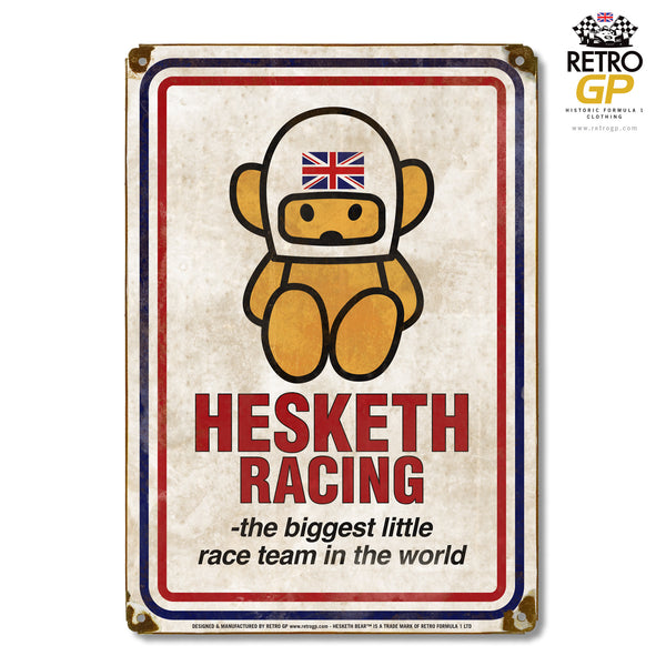 OFFICIAL Hesketh Racing Retro Sign