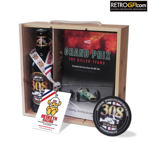 OFFICIAL Hesketh 308 Beer & Killer Years Book Gift Box - Can be personalised