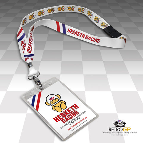 OFFICIAL  Hesketh Racing Lanyard