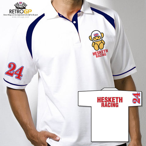 OFFICIAL Hesketh Racing Polo Shirt
