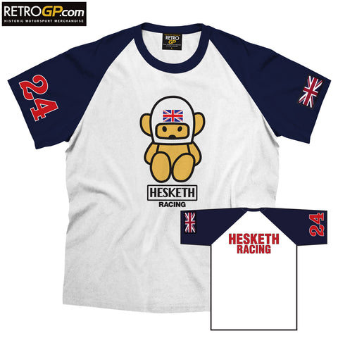 LIMITED STOCK: OFFICIAL Hesketh Racing Crew Shirt