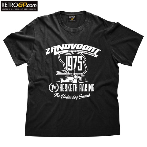 OFFICIAL Hesketh Racing Zandvoort 1975 T Shirt
