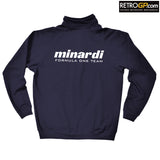 OFFICIAL Minardi 191 Zip Up Sweatshirt Jacket