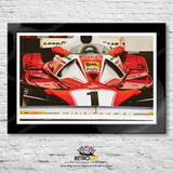 Ferrari 312 Prints - Original, Portrait and Study