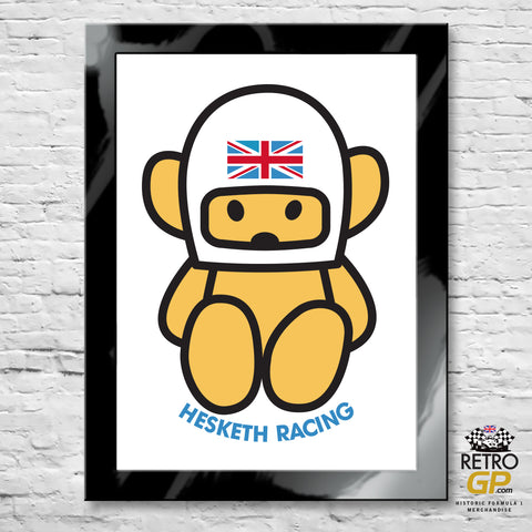 1974 Hesketh Racing Bear Print