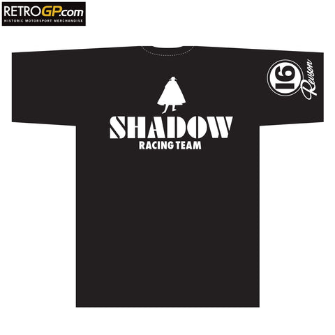 CLEARANCE - SIZE S - Shadow Racing Peter Revson T Shirt