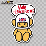 OFFICIAL VIVA Hesketh Racing Sticker