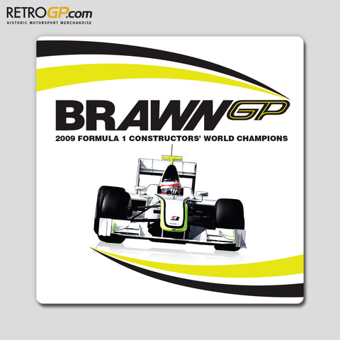 Brawn GP 2009 World Champions Sticker