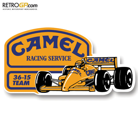 1987 Camel Team Lotus Honda Stickers