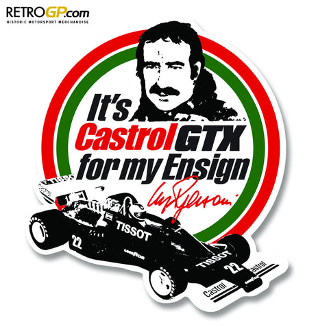Castrol Ensign N177 Regazzoni Stickers