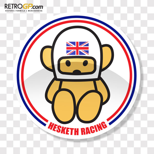 Official Hesketh Racing Sticker 3 Pack Retrogp