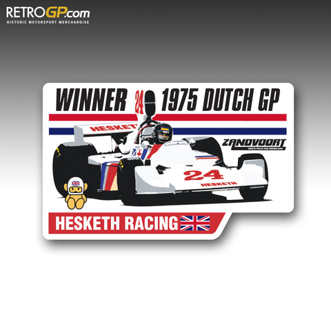 Hesketh Racing Zandvoort 75 Sticker