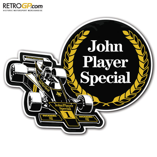 1974 John Player Special Stickers