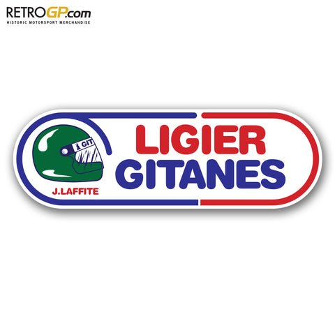 Ligier 1980 Jacques Laffite Sticker
