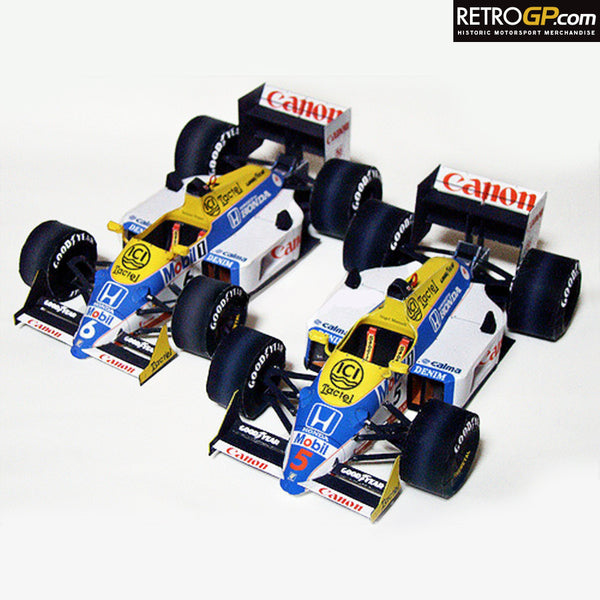 FREE Paper Engineering - Williams FW11B