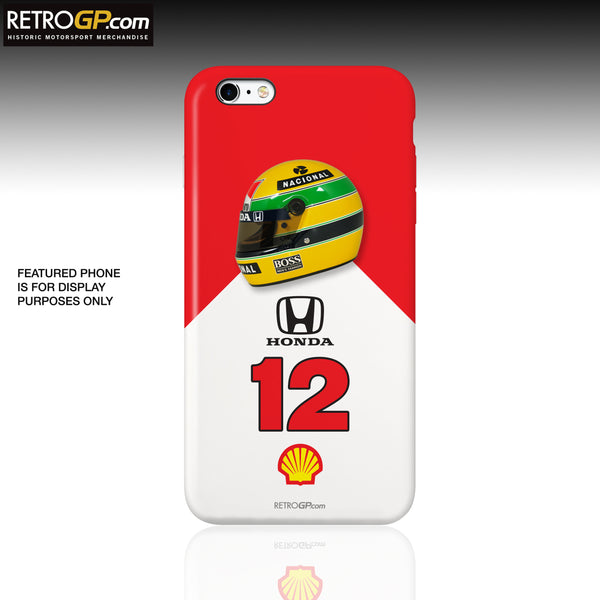 MP4/4 Hard Phone Case