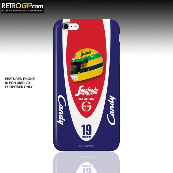 Toleman Candy Senna Hard Phone Case