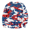 USA Camo Sweater
