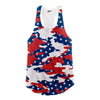 Image of USA Camo Racerback Tank Top