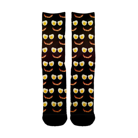 Breakfast Smiles Socks - Shweeet