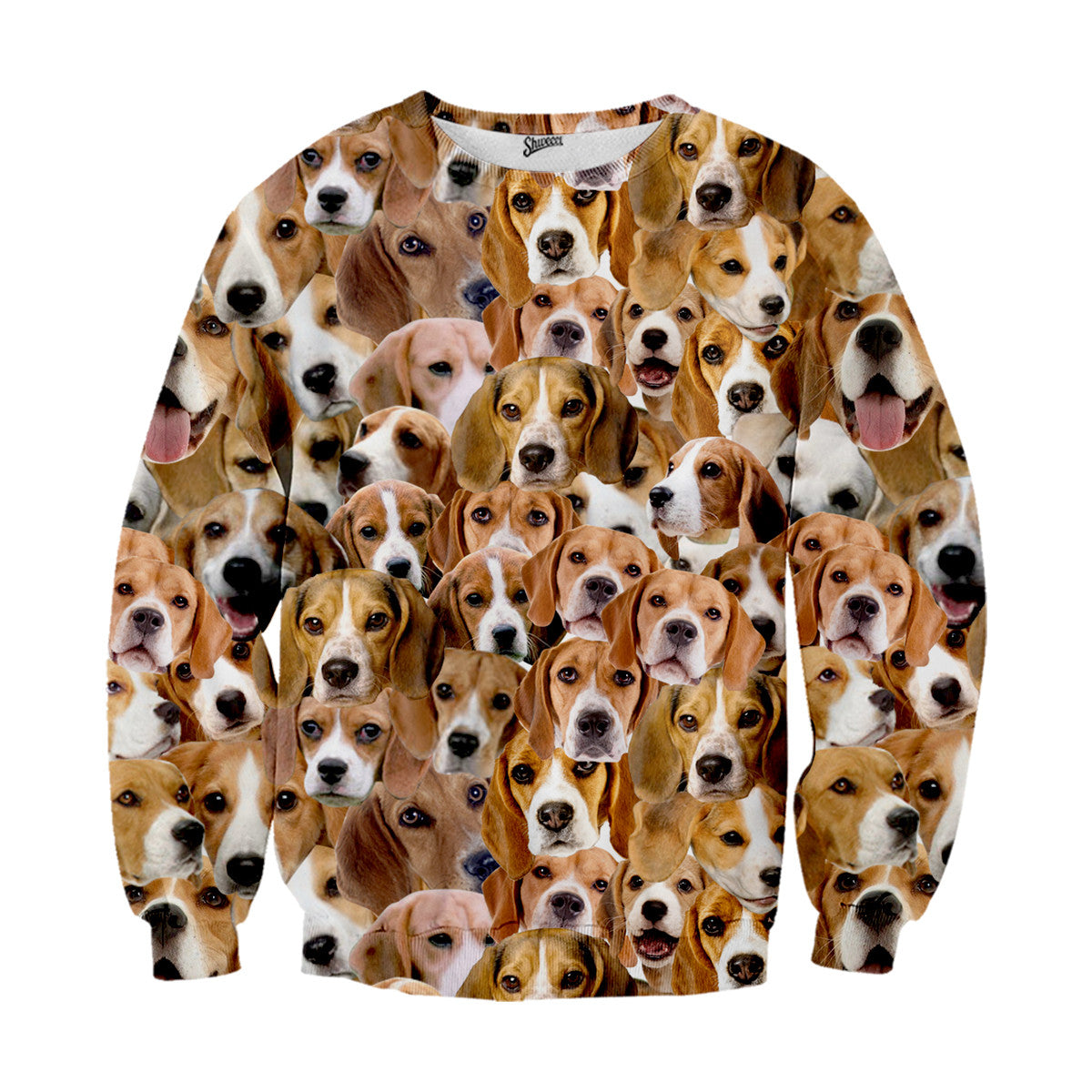 Beagles Face Sweater