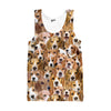 Beagles Face Tank top - Shweeet
