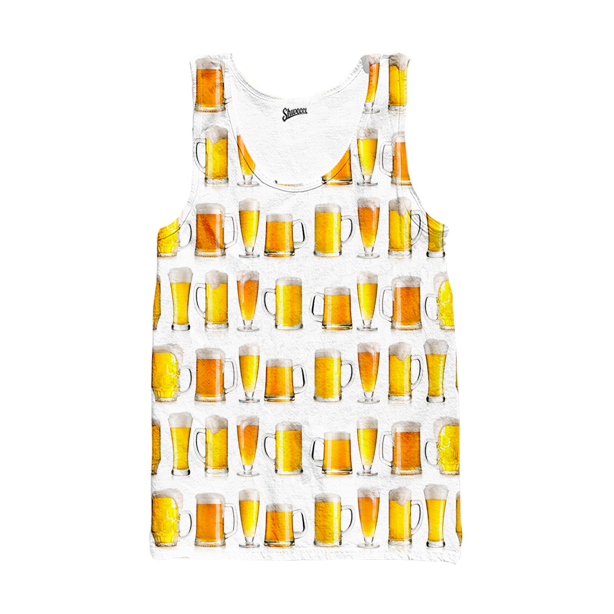 Beer Glasses Tank top - Shweeet