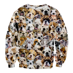 Bulldogs faces Sweater - Shweeet
