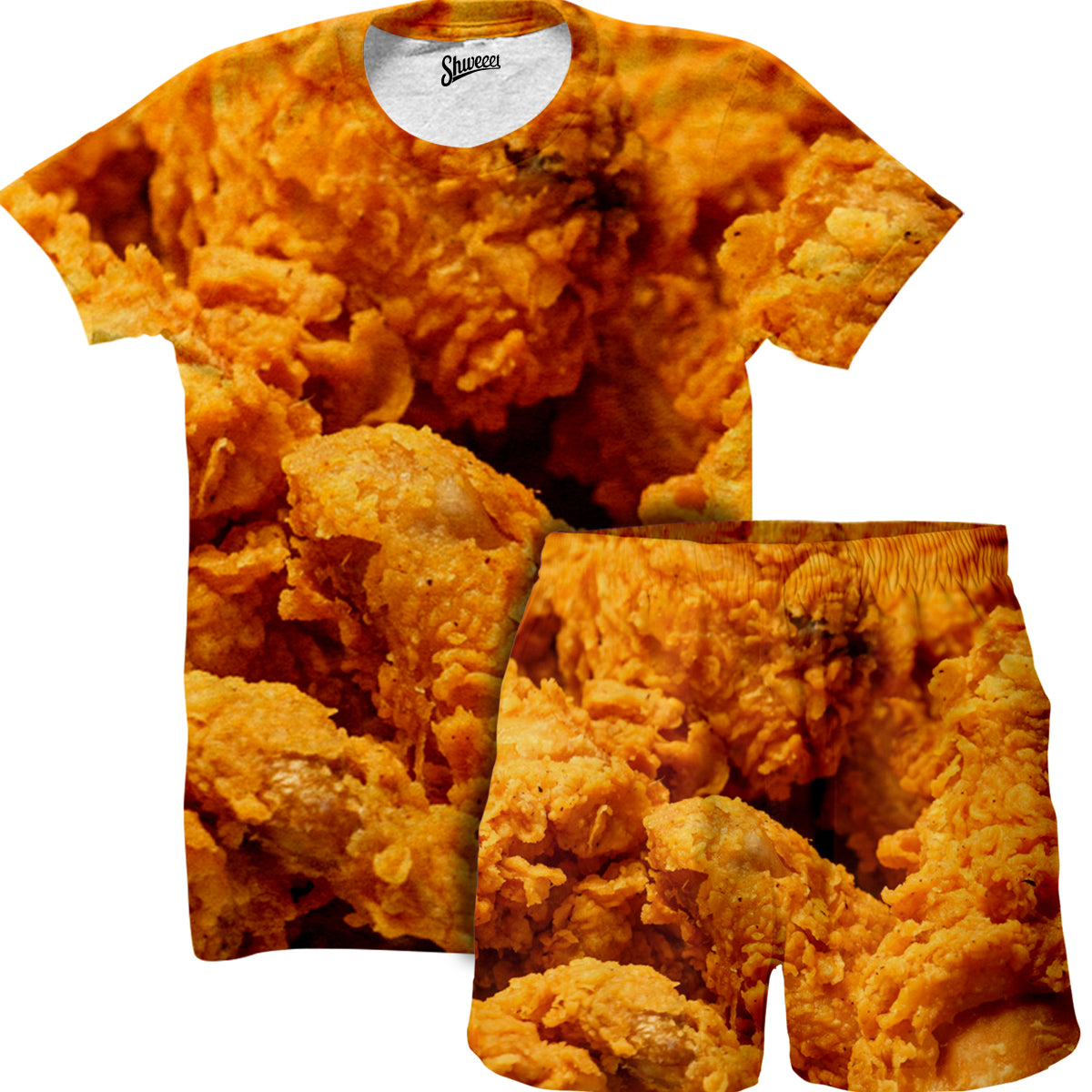Chicken Fried Shirt and Shorts Combo - Shweeet