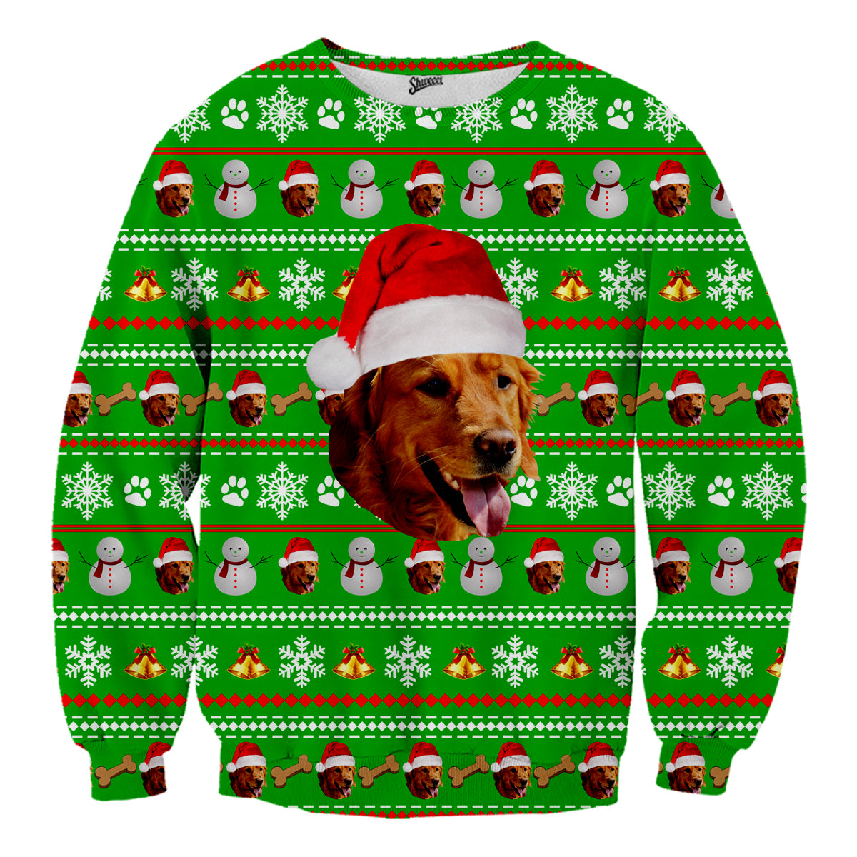Christmas Sweaters For Dogs.Custom Pet Christmas Sweater