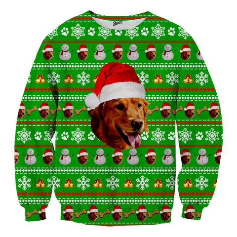 Custom Pet Christmas Sweater - Shweeet