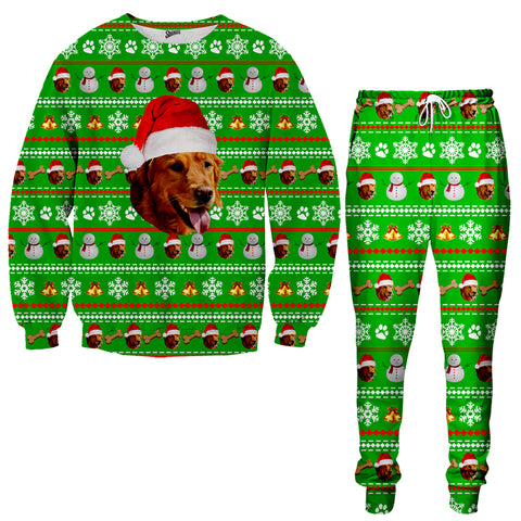 Custom Pet Christmas Tracksuit - Shweeet