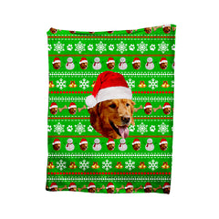 Custom Pet Christmas Blanket - Shweeet