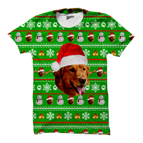 Custom Pet Christmas T-shirts