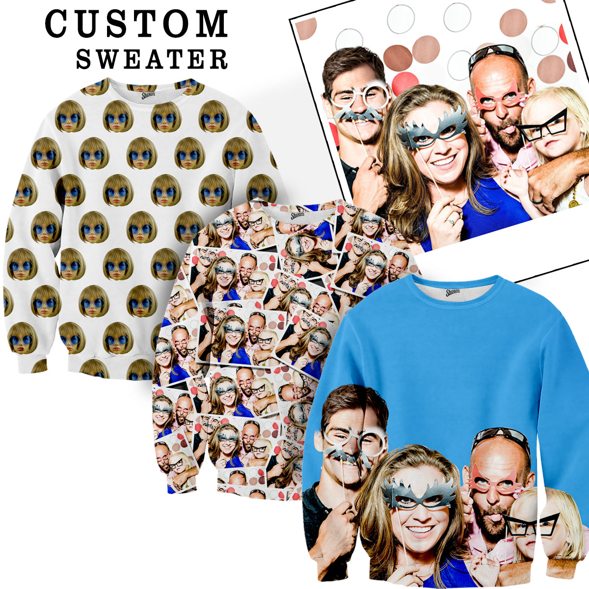 Custom Face Sweater