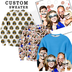 Custom Face Sweater - Shweeet