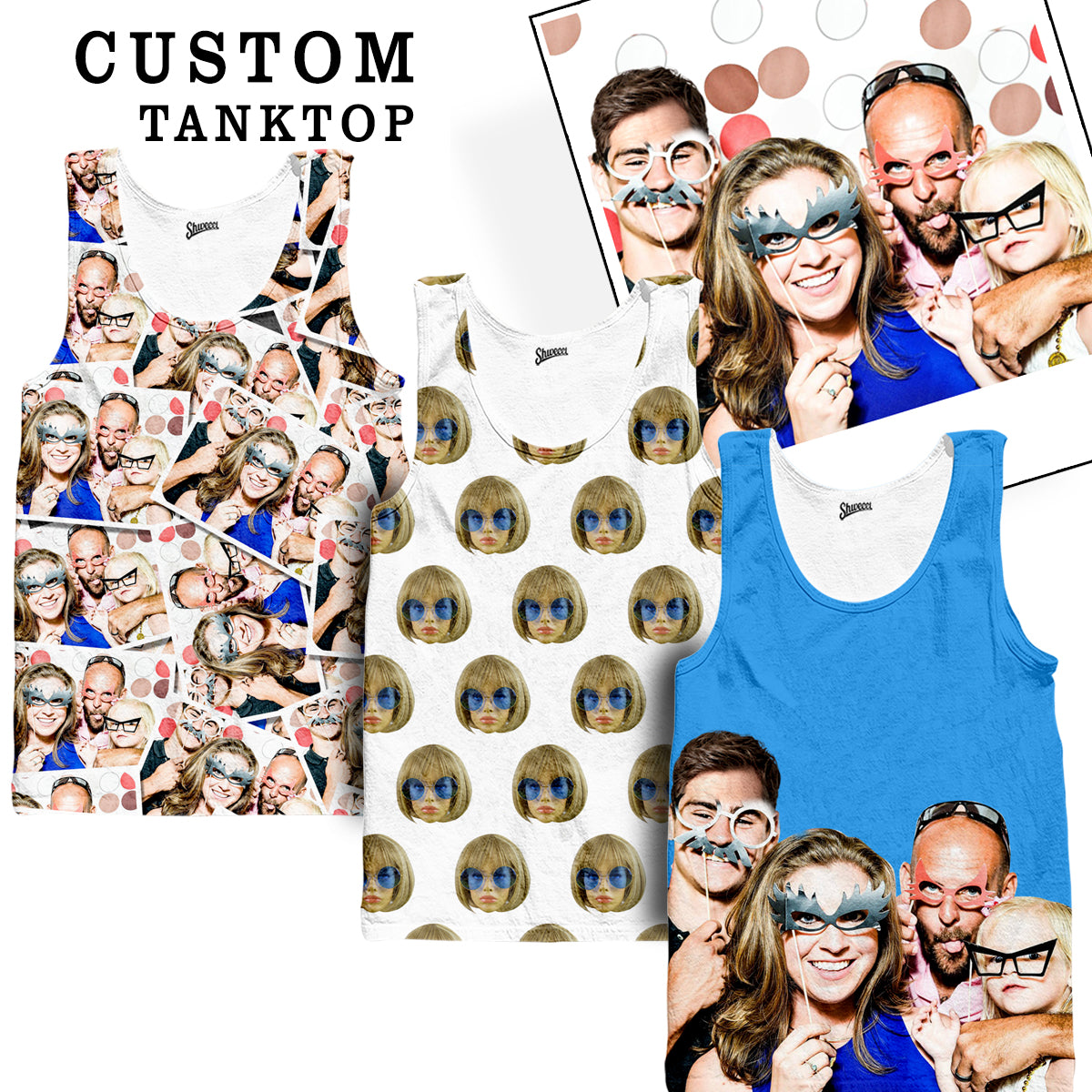 Custom Face Tank top