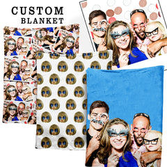 Custom Face Blanket - Shweeet