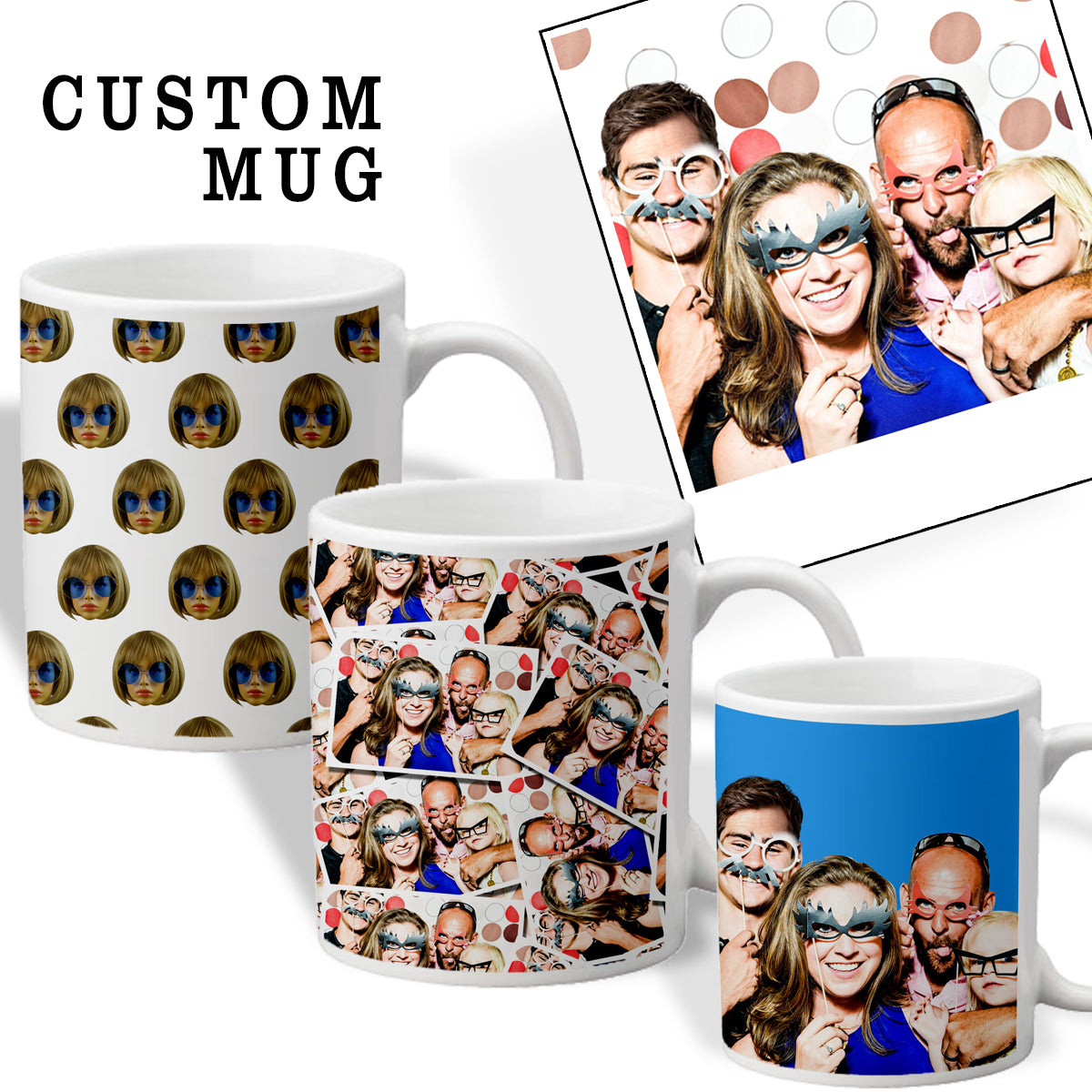 Custom Face Coffee Mug - Shweeet