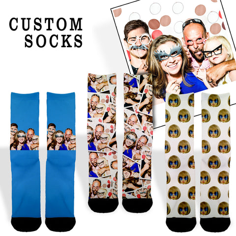 Custom Face Socks - Shweeet