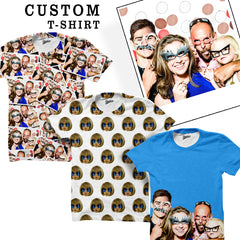 Custom Face T-shirts