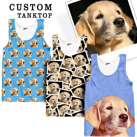 Custom Pet Tank top - Shweeet