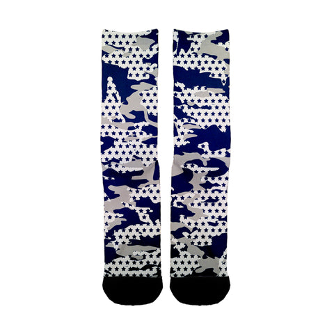 Dallas Camo Socks - Shweeet