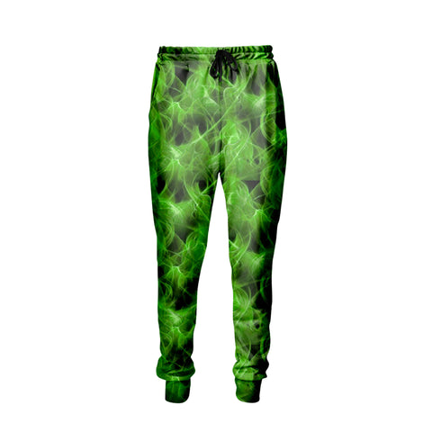Green Fire Jogger Pants - Shweeet