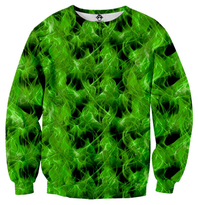 Green Fire Sweater - Shweeet