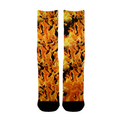 Fire Flames Socks - Shweeet