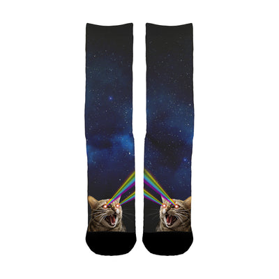 Galaxy Laser Cat Socks - Shweeet