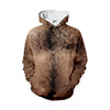 Image of Hairy Chest Hoodie - Shweeet