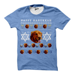 Hannukah Christmas Pet T-shirt