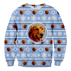 Custom Pet Hanukkah Sweater